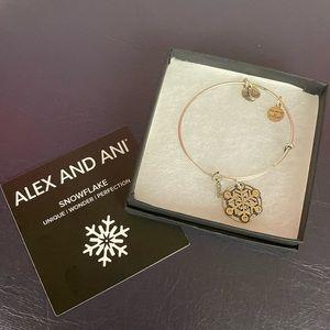 BNIB ALEX AND ani Snowflake Bracelet